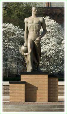 East Lansing - See Sparty. Go Green.