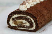 Rulada Tiramisu cu mascarpone,piscoturi insiropate si blat cu cafea Tiramisu, Romanian Food, Homemade Cakes, Cake Recipes, Rolls, Cupcakes, Sweets, Cookies, Chocolate