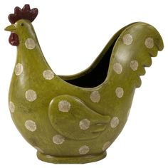 Polka-Dot Rooster @Pascale Lemay Lemay Lemay De Groof