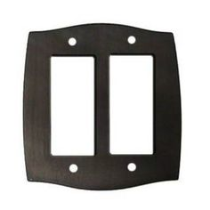 Check out the Colonial Bronze 6005-2G Colonial Double GFI/Decora Switchplate