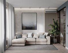20 ideas for home dco living room modern apartments Simple Living Room, Living Room Modern, Home Living Room, Living Room Decor, Decor Room, Bedroom Decor, Studio Living, Studio Apartment Decorating, Apartment Interior