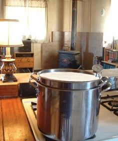 You don't need an expensive pasteurizer for home use.  A double boiler and thermometer will work just fine.
