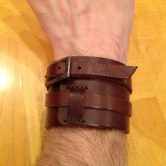 Vegan leather cuff Vegan leather cuff Jewelry Bracelets