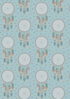 Lewis & Irene To Catch a Dream Patchwork Quilting Fabric Dream Catchers on Light Blue Cotton Quilting Fabric, Nursery Prints, Irene, Light Blue, Colours, Quilts, Crafts, Inspiration, Bad Dreams