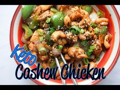 Easy Cashew Chicken | 15 Minute Meal - KetoConnect
