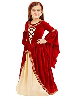 Big Girls' Alessandra The Crimson Princess Costume Medium (7-8) -- See this great product.