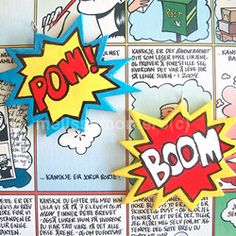 Old comics fan? Show some of your love with this onomatopoeia charms