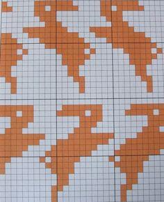 Bunny Knitting Chart.