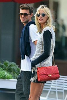 Anja Rubik & Sasha Knezevic Smooch and Shop Together in Paris   The Front Row View