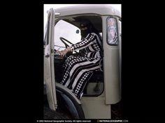 women truck driver Saudi Arabia