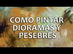 Dioramas Parte 4 Profundidad de Campo - YouTube Ideas Diorama, Nativity, Scenery, Miniatures, Fantasy, Painting, Youtube, Belem, Portal