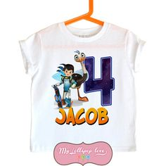 Miles From Tomorrowland Birthday Shirt By MyLollipopLove On Etsy Sprinkling Bows Personalized T Shirts For Kids