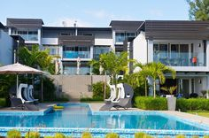 exterior resort Mauritius Ultimate Modern Relaxation Getaway: Plage Bleue Resort, Mauritius
