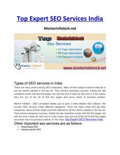Expert seo company india
