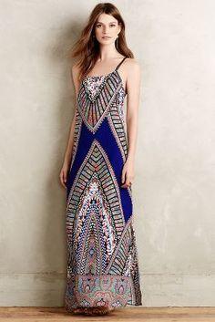 Greylin Lepontine Maxi Dress #anthroregistry