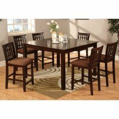 Carson 7 Piece Dining Set 36 H X W 54 D Table Comes