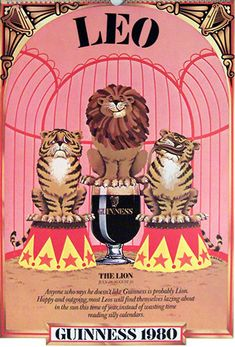 LEO~ (Jul Ambitious, encouraging, and supportive people who also might fall into their own drink if they catch a reflection. Watch them carefully to avoid tragedy, or just flatter them. Flattery always gains their attention. Room Posters, Poster Wall, Poster Prints, Zodiac Signs Leo, Zodiac Art, Astrology Leo, Leo Horoscope, Leo Tattoos, Leo Lion