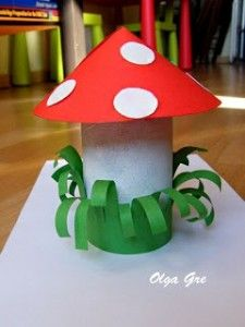 Mushroom crafts | Crafts and Worksheets for Preschool,Toddler and Kindergarten