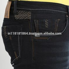 Source Custom stitching design wholesale price denim jeans for men on m. Shoes With Jeans, High Jeans, Denim Jeans Men, Jeans Pants, Work Jeans, Jean Outfits, Jeans Style, Fashion Pants, Fendi