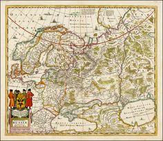 Novissima Russiae Tabula - Barry Lawrence Ruderman Antique Maps Inc.