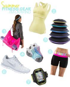 Summer Fitness Gear