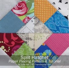 Click and Download Your Free Quilting Patterns:
