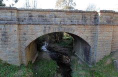 Yackandandah's bridge is at risk: Indigo Council. , built in the 1850s.