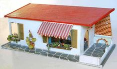 Puppenhäuser 50er 27