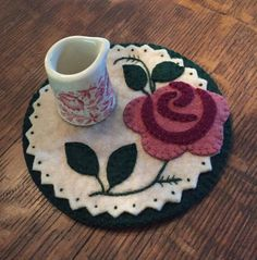 Rose Candle Mat                                                                                                                                                                                 More