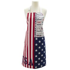 Memorial Day or 4th of July apron