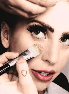 Having make up
