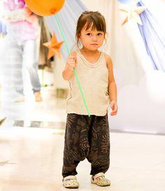Toddler harem pants size 3T pantaloons genie by VividDress on Etsy, $17.00