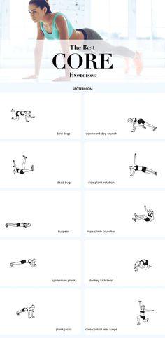 Mejores ejercicios del core, importante de favorecer y evitar lesiones futuras...