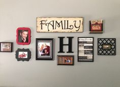 family photo frame set - Family Collage Frames for the Home ...
