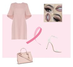 """""""pretty in pink"""" by darceyhouston ❤ liked on Polyvore featuring Valentino, Zara and Michael Kors"""