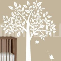Wall Decals - Stylish Tree - Wall Stickers