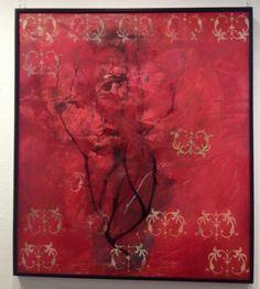 Venus sumergida en la pasión Mar Ángeles Chávez Pintura Óleo sobre tela 170 x 157 cms 2014. $ 40, 000.00 M.N. www.galeriartenlinea.com #pasionporelarte - Exposición Colectiva Multidisciplinaria 46 Artistas, 74 piezas #arte #art #arts #pintura #painting #escultura #sculpture #dibujo #drawing #grafica #graphic  #colectiva #collective #color #life #vida #multidisciplinaria #multidisciplinary #galeria #gallery  #artists #artistaplastico #proyectonomada #CDI #centrodeportivoisraelita #gael