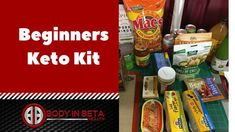 Thinking of starting the ketogenic diet but don't know where to start. Take a look at some of these keto staples on this keto beginner grocery list and video.