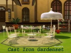ShinoKCR's Cast Iron Gardenset