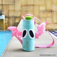http://believeninspire.com/2014/09/pink-wings-the-dragon-bottle-cover-free-kids-sewing-patterns.html