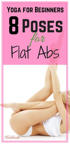 Yoga for flat abs. #flatabs