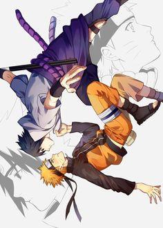Sasuke Uchiha x Naruto Uzumaki/Namikaze (SasuNaru/NaruSasu) Naruto Vs Sasuke, Naruto Uzumaki Shippuden, Sasunaru, Gaara, Anime Naruto, Naruto Fan Art, Wallpaper Naruto Shippuden, Sarada Uchiha, Naruto Cute