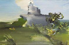 Kokas, Ignác - Mill's Ruins on Szentgyörgy Malm, Portal, Mount Rushmore, Mountains, Nature, Travel, Paintings, Artists, Naturaleza