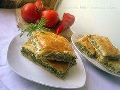 Spanakopita (Placinta cu spanac) Appetizer Recipes, Dessert Recipes, Appetizers, Desserts, Greek Recipes, New Recipes, Caramel Crunch, Spinach Pie, Everyday Dishes