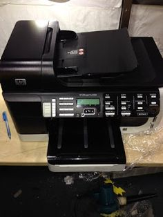 Worldwide Electronic-Hardware Solutions: How to repair leaking ink on Hp Officejet Pro 8500...