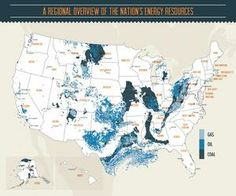 US energy in five maps (infographics) - 1. Oil, gas, and coal - CSMonitor.com