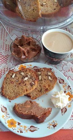 This no all / Disznóól - KonyhaMalacka  disznóságai: Rumos-diós banános kuglóf Salsa, French Toast, Breakfast, Dios, Salsa Music, Restaurant Salsa, Morning Breakfast