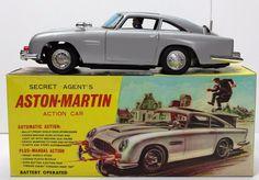 Secret Agent's Aston-Martin Action Car