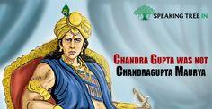 Chandra Gupta and Chandra Gupta Maurya were different people. #Indian #History