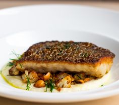 Pan-fried Fish with Cauliflower and Hazelnuts